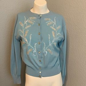 Vintage 1950s Sweater Cardigan